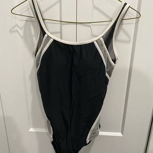 Other - Black one piece bathing suit size small